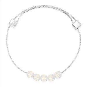 Iridescent Expandable Bracelet (.925 Silver)